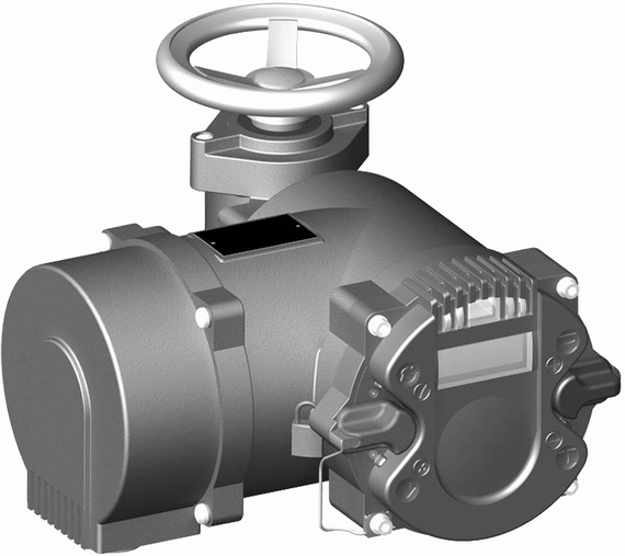 EIM RTS CM Compact Multi-turn Electric Valve Actuator (Rebranded)