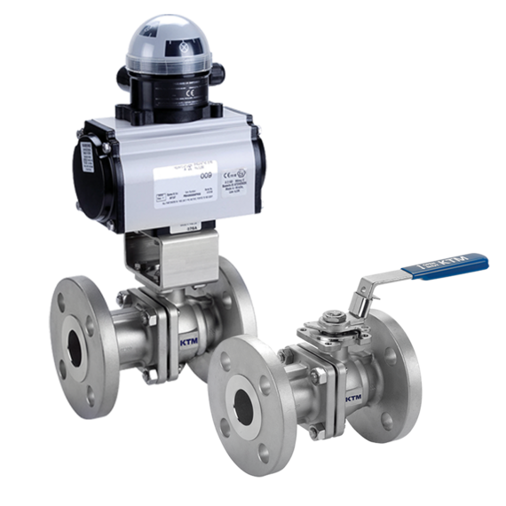Series EF190FE Two-piece Full Bore Ball Valves
