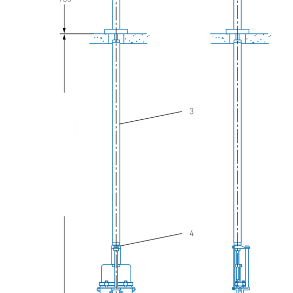 Figure 454 Floor Stands