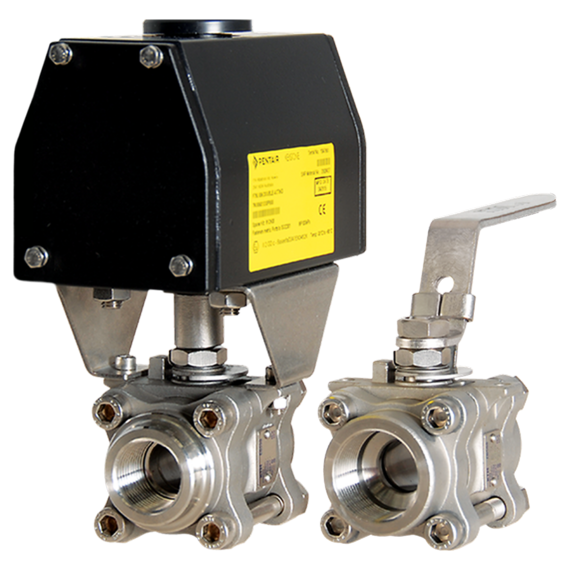 Series EB588 Ball Valves