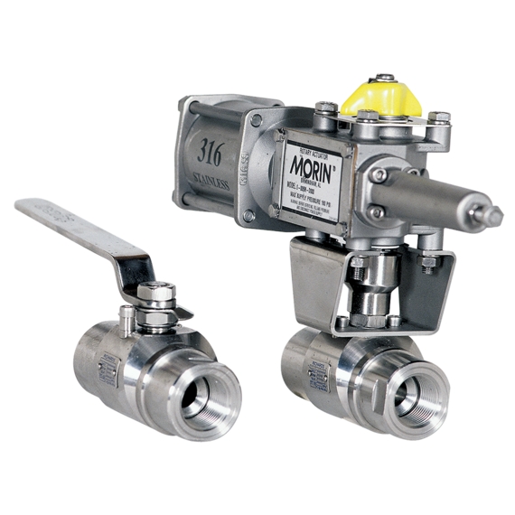 Series EB548/EB545 Floating Ball Valve