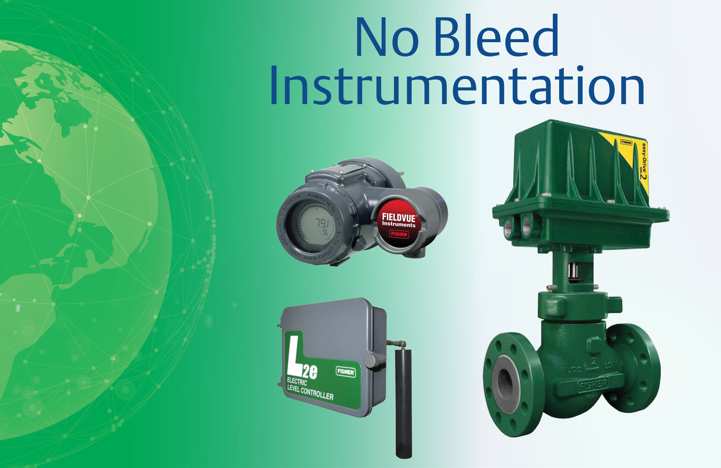 Move Past the Limitations of Pneumatic Devices with No Bleed Instrumentation