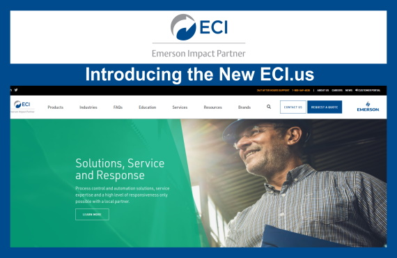 ECI Launches a new website to create an improved customer experience.